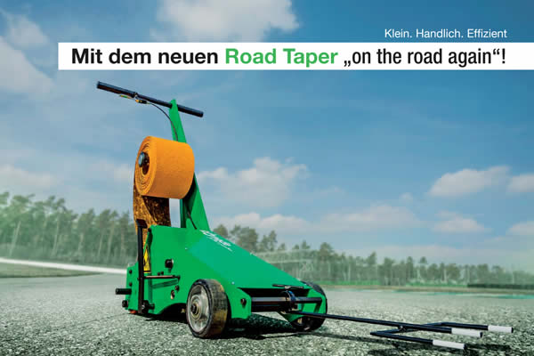 Verlegemaschine ROAD TAPER