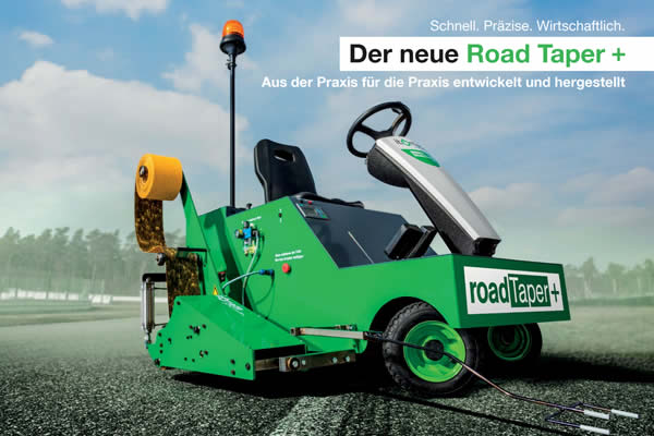 Markierungsmaschine ROAD TAPER+