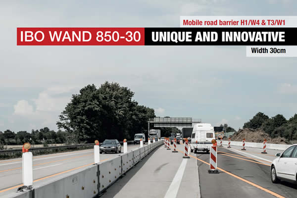 Mobile road barrier H1/W4 & T3/W1
