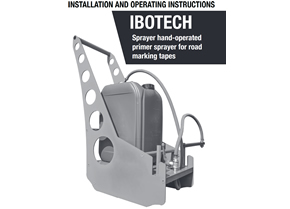 Installation and operating instructions Sprayer